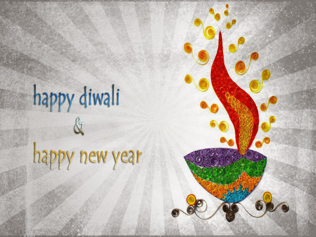 Happy Diwali And New Year Wallpapers: Diwali And Inspirational New Year Wishes Cards