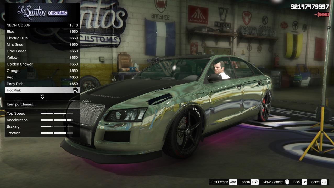 Cara Modif Lampu Neon Bawah Mobil Di Gta V Dengan Neon Kits Hotgamemagazine Com