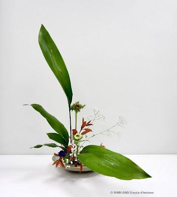 Ikebana-moribana-freestyle-wabisabi-escoladikebana