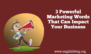 Powerful Marketing Business Words That Can Impact