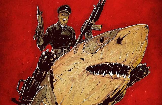 'Sky Sharks': Zombies nazis que conducen tiburones voladores mecanizados [Tráiler]
