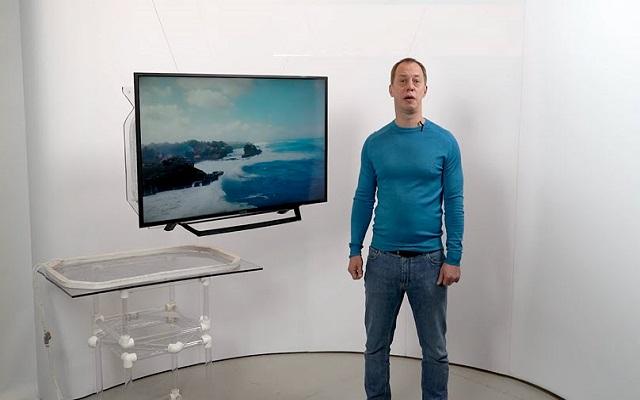 بالفيديو ... هذا أول تلفزيون يعمل بدون كابلات وحتى بدون مصدر كهرباء