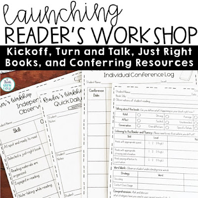 launching readers workshop grades 3-5