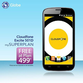 Cloudfone Excite 501D