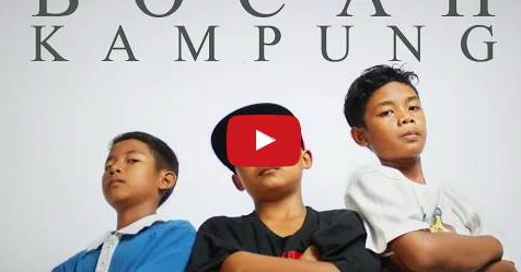 VIDEO: Lantunkan Lagu Sarat Akan Pengajaran Bagi Anak-Anak, 3 Rapper Anak Kampung Jadi Viral