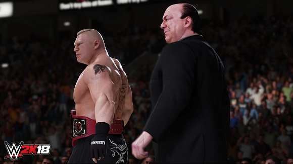 WWE 2K18 PC Free Download Screenshot 1