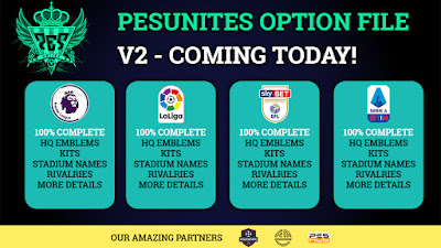 PES 2021 PS4 Option File PESUnites.org