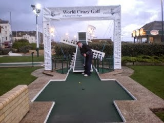 Crazy Golf course in Hastings
