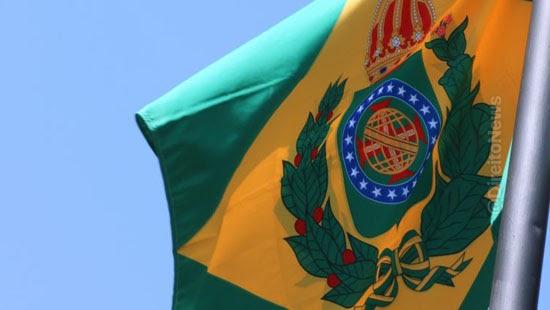independencia hastear bandeira imperio fux retirada