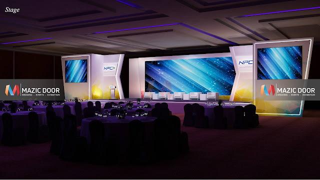 NPCI Conference Setup Design 06