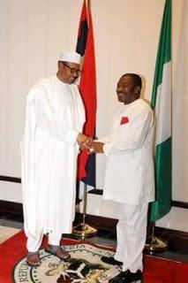 chief-sir-felix-chidi-idiga-and-president-buhari