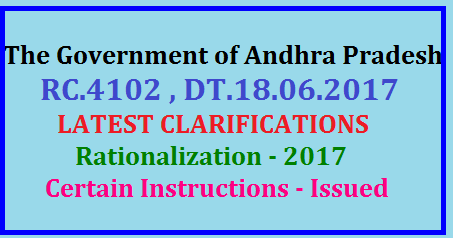 RC.4102 , DT.18/6/2017,LATEST CLARIFICATIONS - Rationalization - 2017 - Certain Instructions - Issued - Reg/2017/06/rc4102-dt1862017latest-clarifications-rationalization-2017-certain-istructions-issued.html