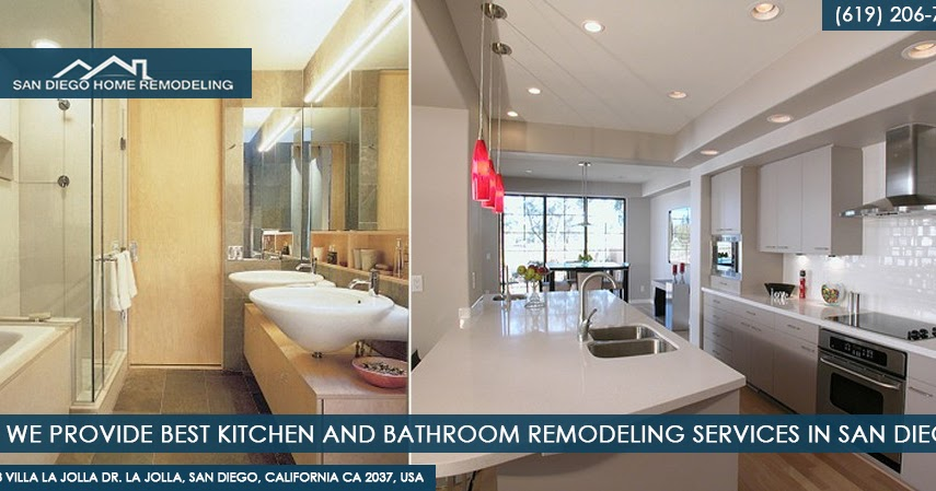 San Diego Bathroom Remodeling Best San Diego Kitchen Remodeling Fascinating Bathroom Remodeling Services Collection