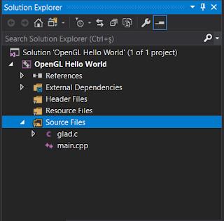 OpenGL Geliştirme Ortamı Kurulumu Visual Studio 2019