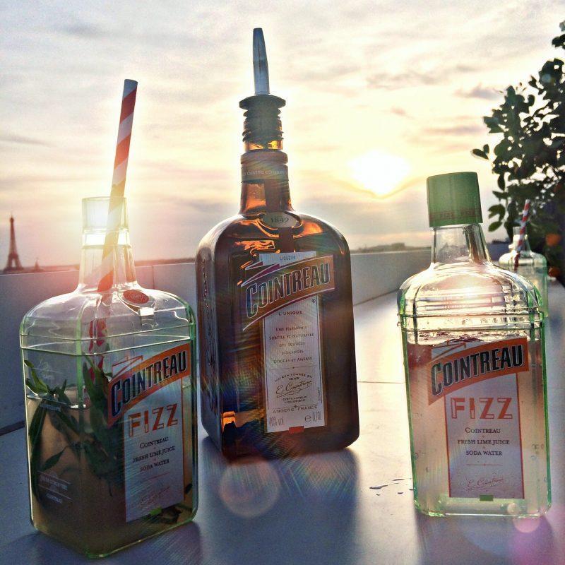 Recettes d'été avec Cointreau Fizz - laquotidiennedele