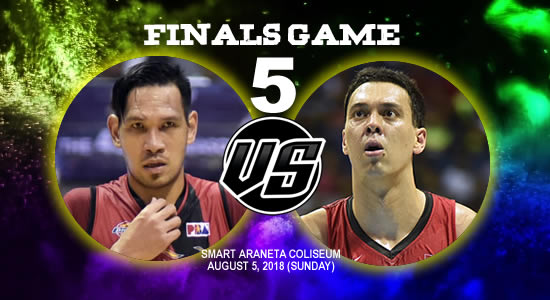 List of PBA Game(s): August 5 at Smart Araneta Coliseum 2018 PBA Commissioner's Cup Game 5