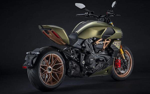 Ducati lança Diavel 1260 inspirada Lamborghini Scián