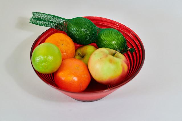 Schaaltje fruit voor cocktails