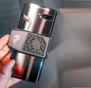 مواصفات و مميزات اسوس Asus ROG Phone II للألعاب مواصفات اسوس روج فون 2 - Asus ROG Phone II اسوس Asus ROG Phone 2  مواصفات جوال/ موبايل اسوس Asus ROG Phone الإصدار الثاني