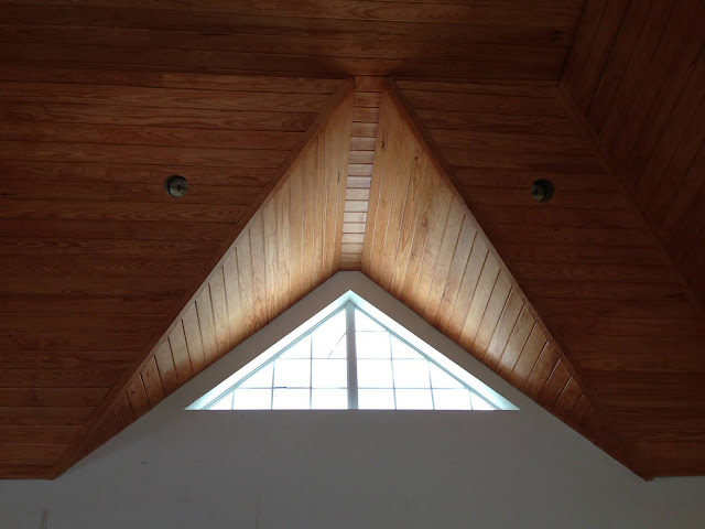 Tongue & Groove Pine Ceiling by Kurk Homes