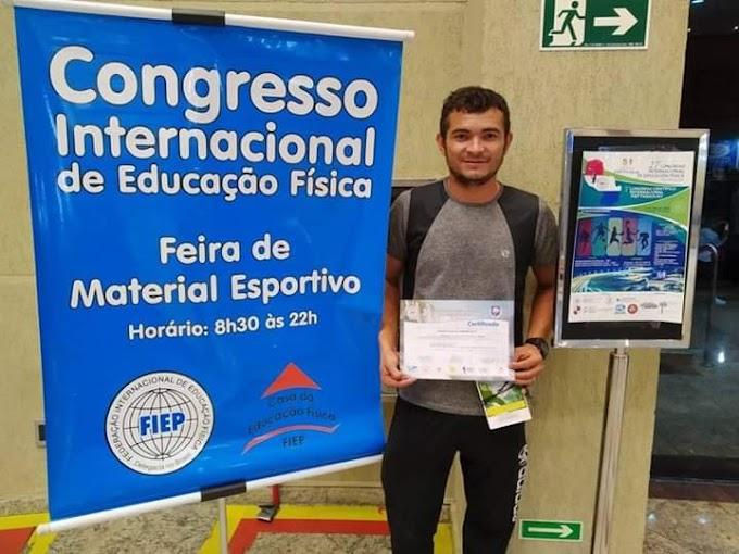 Professor Manoel Andrade participa de evento Internacional de Educação Física em Foz do Iguaçu