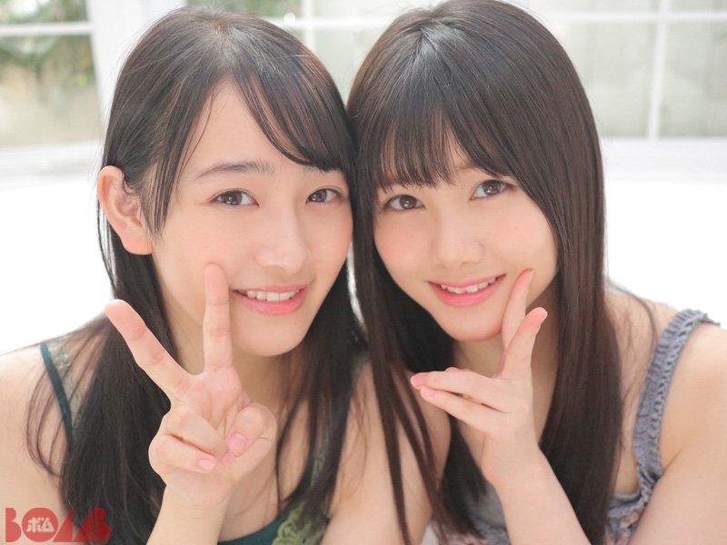 Ito Riria 伊藤理々杏, Mukai Hazuki 向井葉月, BOMB! 2018 No.01 (ボム 2018年01月号)