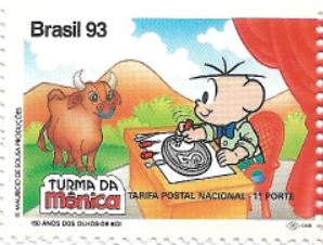 Selo 150 Anos dos Olhos-de-Boi, Cebolinha