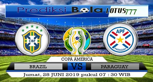 PREDIKSI BRAZIL VS PARAGUAY 29 JUNI 2019