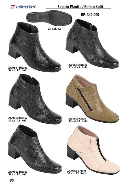 Jual sepatu wanita ukuran 42 model boot