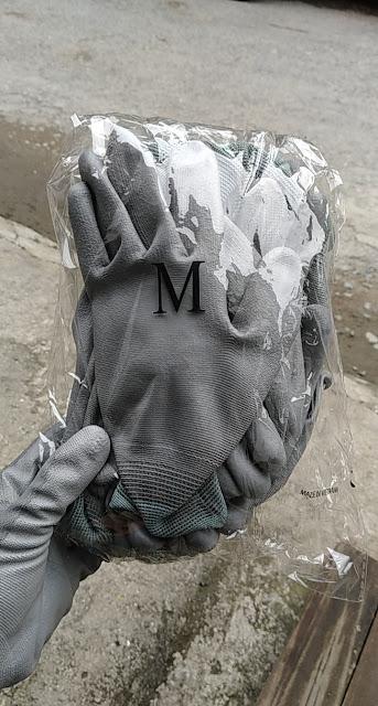 Găng tay Pu phủ ngón đóng gói 10 đôi/ túi