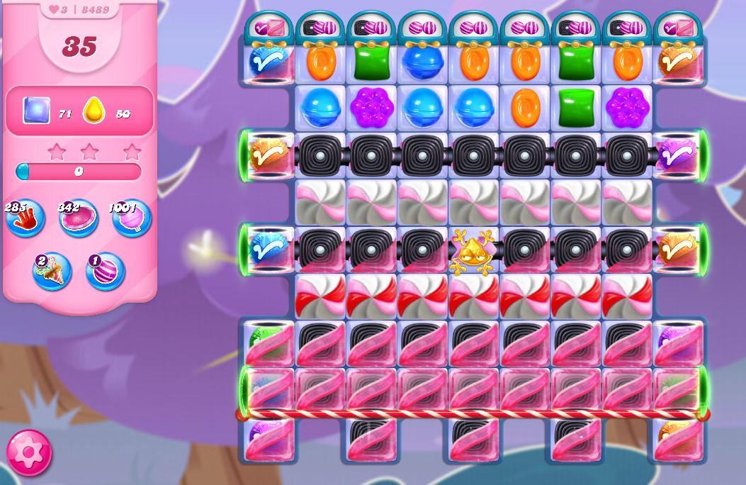 Candy Crush Saga level 8489
