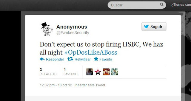 Anonymous Hacker claims to have 20,000 debit card details from HSBC Cyberattack