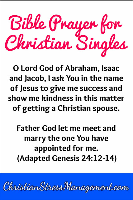 Bible Prayer for Christian Singles