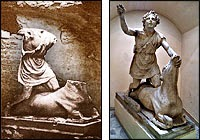 Mithras and the Bull, 100 CE