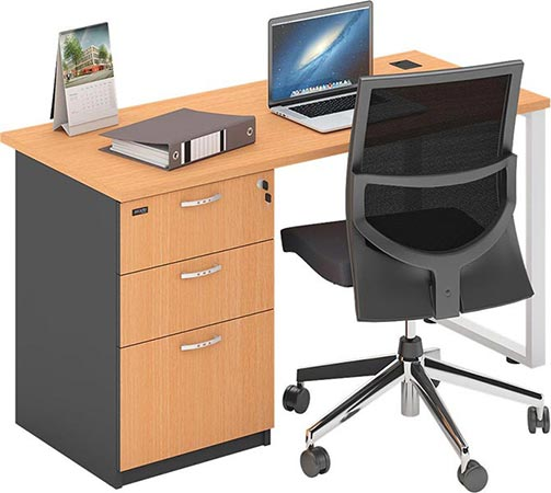 model meja kerja kantor minimalis