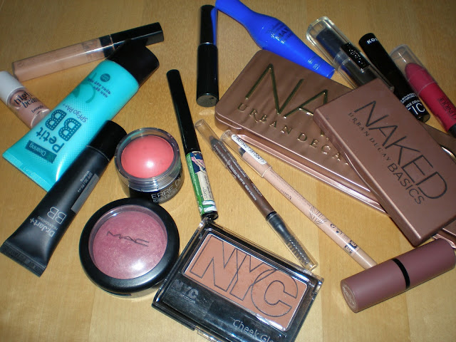 My Everyday makeup products