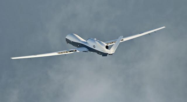 Northrop Grumman MQ-4C Triton Flight Test