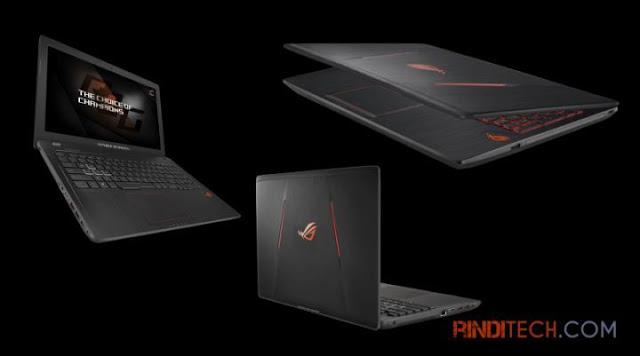 ASUS ROG GL553VE - Laptop Gaming dengan Harga yang Ideal