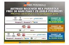 Cara Aktivasi Receiver Nex Parabola