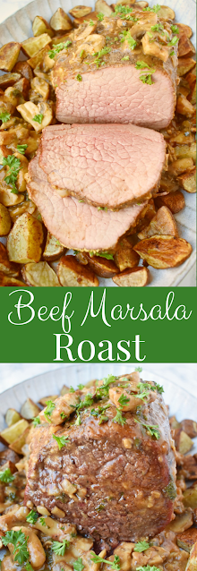 Beef Marsala Roast