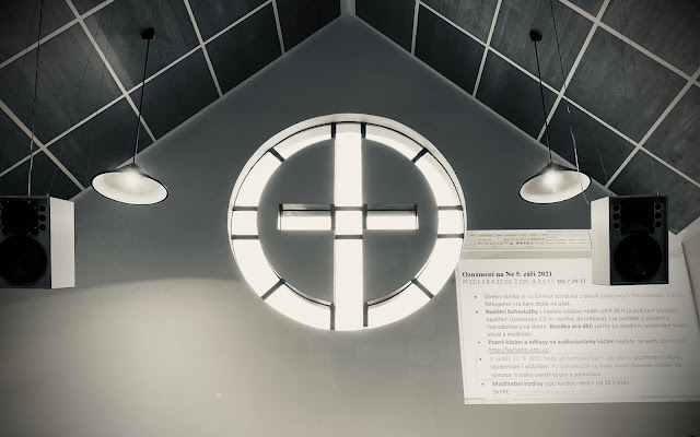 V kostele Evangelické církve metodistické Lochotín