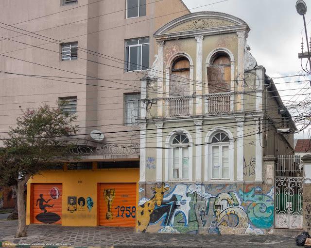 Unidade de Interesse de Preservação na Rua Paula Gomes