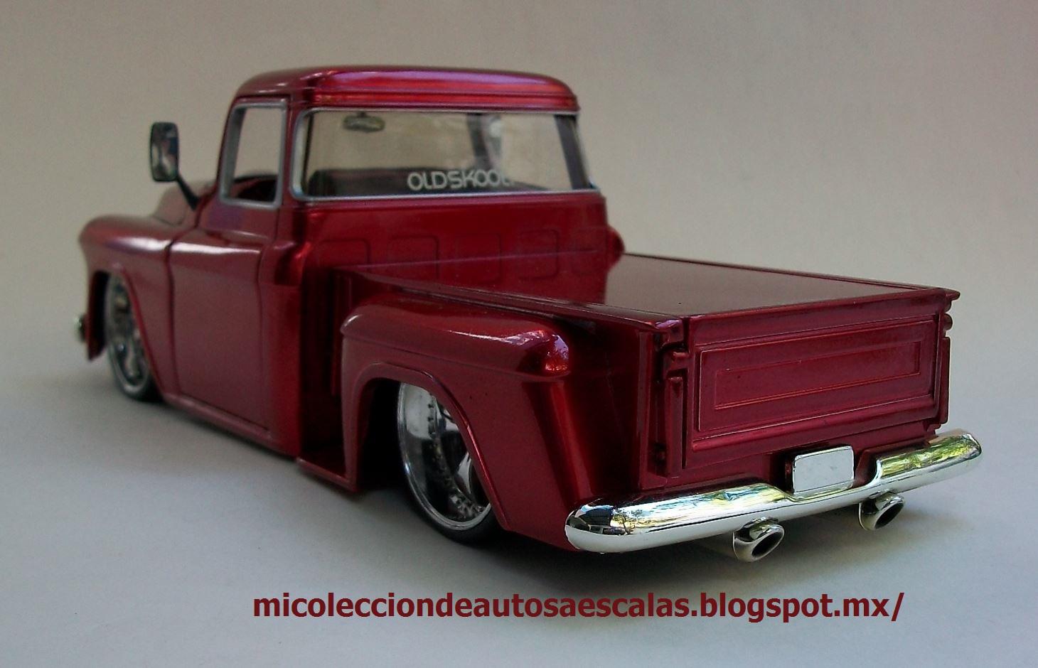 Mi Coleccin De Autos A Escala 1955 Chevy Stepside Jada 1 24 C10