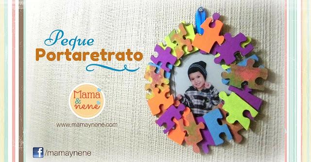 PORTARETRATO - MAMAYNENE-PUZZLE-DIY