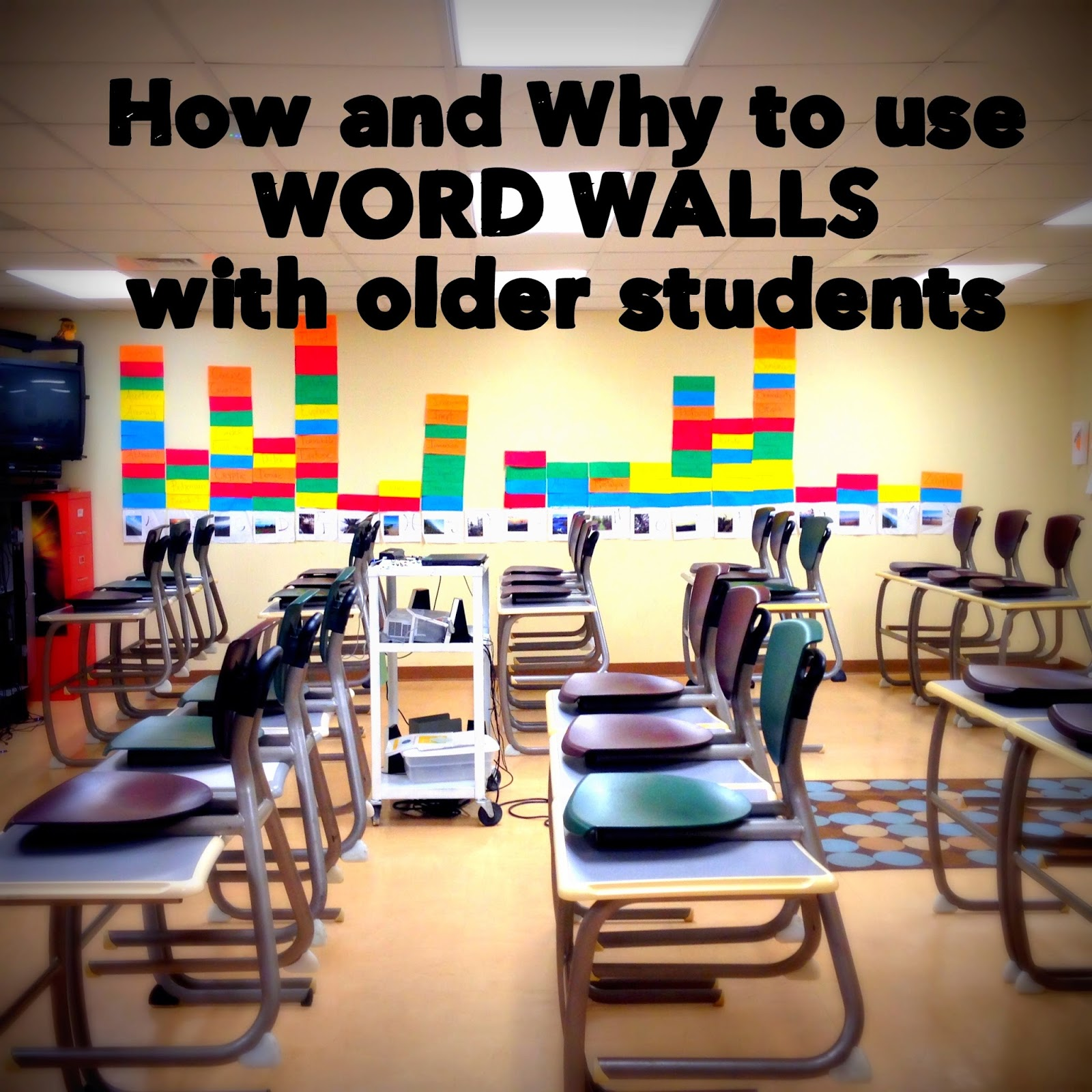 B's Book Love : How and Why to Use Word Walls with Older ...
