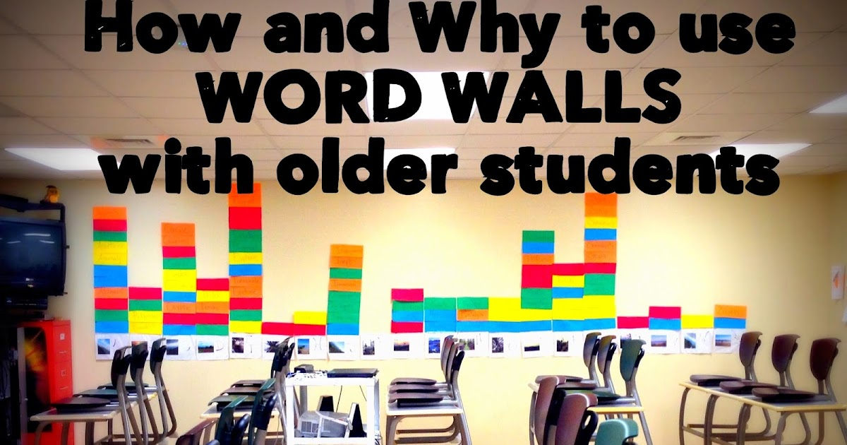 Classroom Ideas K 3 ~ Building book love how and why to use word walls with