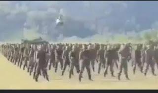 Viral, Pasukan Setan Tiba di Papua, Siap Berantas 'Teroris' KKB OPM