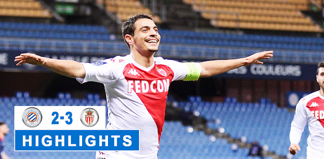 Montpellier vs Monaco – Highlights