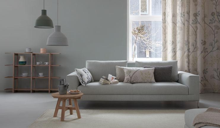 Gordijnen PVC vloeren en Behang