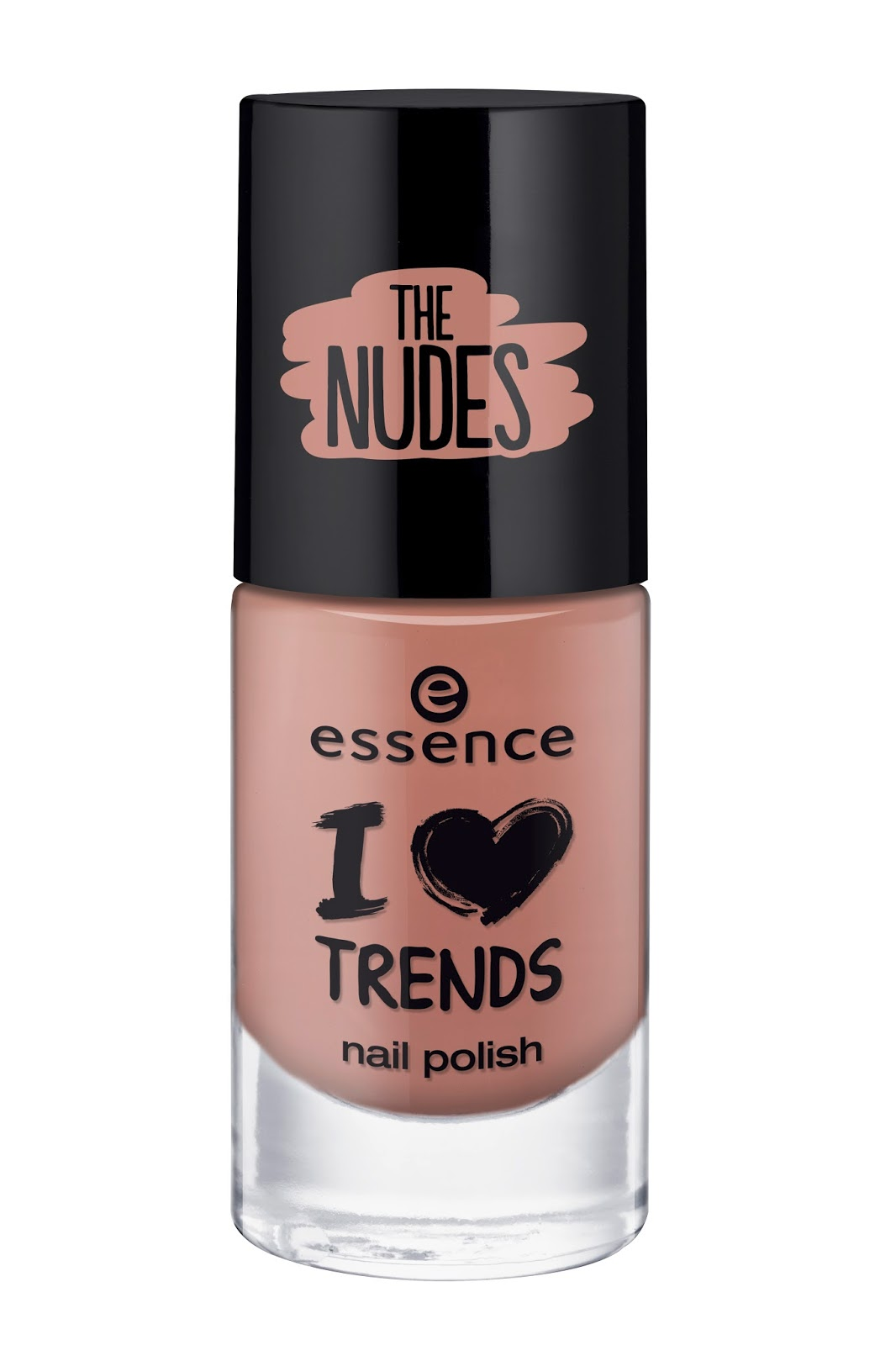 Essence I ♥ TRENDS nail polish the nudes